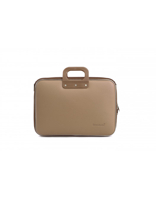 SACOCHE BUSINESS CLASSIC 15'' TAUPE