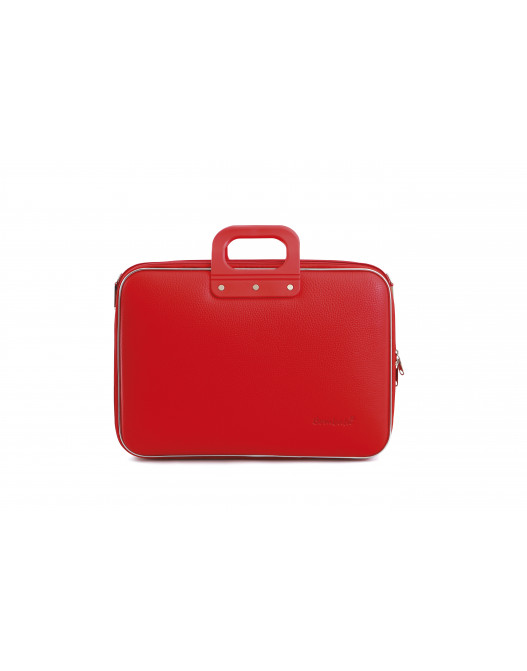 SACOCHE BUSINESS CLASSIC 15'' ROUGE