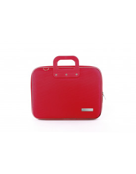 MALLETTE NYLON MEDIOBOMBATA 13'' ROUGE