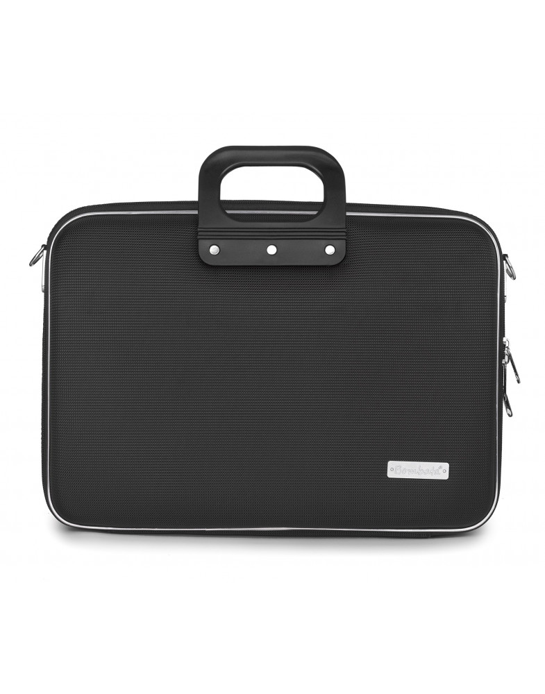 SACOCHE BUSINESS NYLON 15'' NOIR