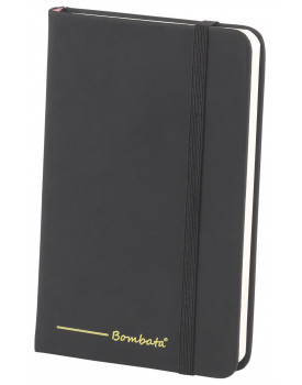 BOMBATA POP ART A6 - CARNET DE NOTES FEUILLES LIGNEES NOIR