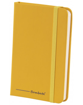 BOMBATA POP ART A6 - CARNET DE NOTES FEUILLES LIGNEES JAUNE