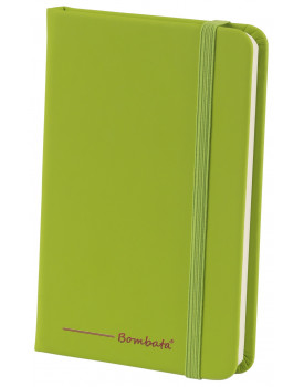 BOMBATA POP ART A6 - CARNET DE NOTES FEUILLES LIGNEES VERT