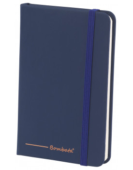 BOMBATA POP ART A6 - CARNET DE NOTES FEUILLES LIGNEES NAVY