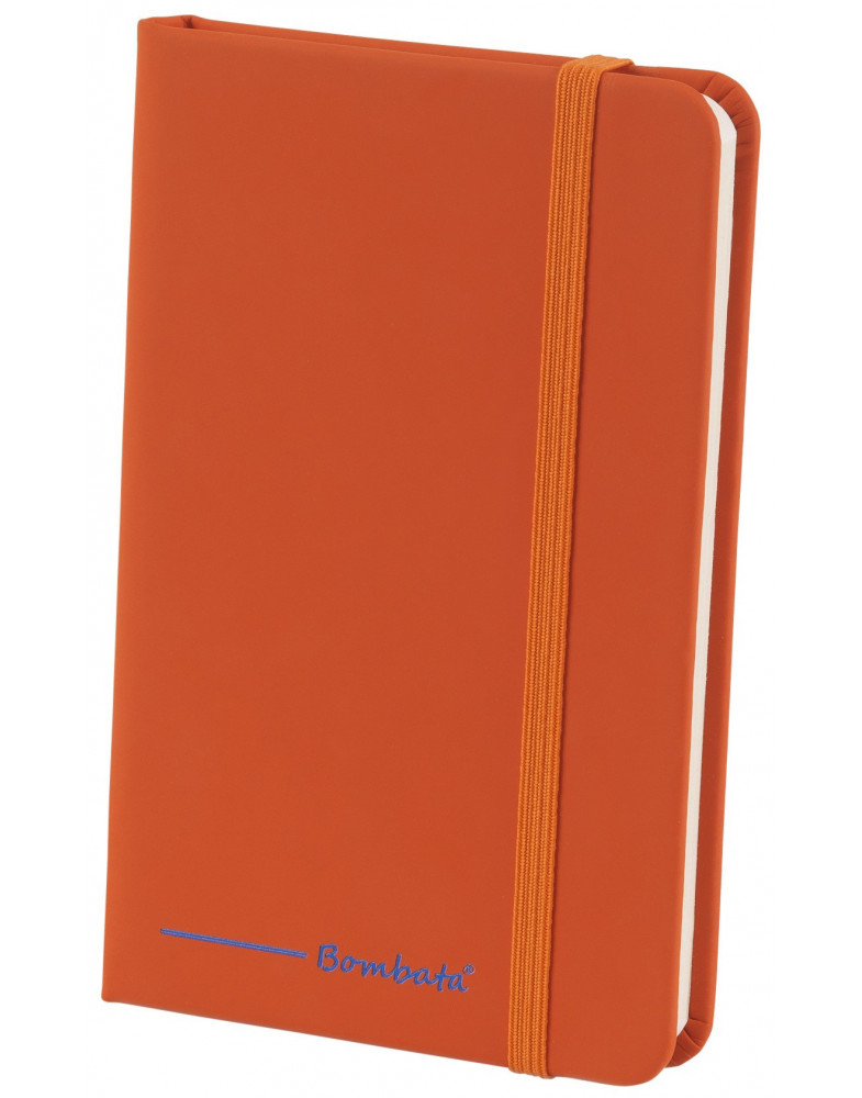 BOMBATA POP ART A6 - CARNET DE NOTES FEUILLES LIGNEES ORANGE
