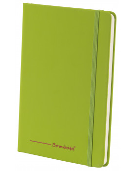 BOMBATA POP ART A5 - CARNET DE NOTES FEUILLES LIGNEES VERT